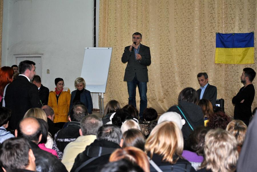 Предвыборная встреча с Александром Сенкевичем
