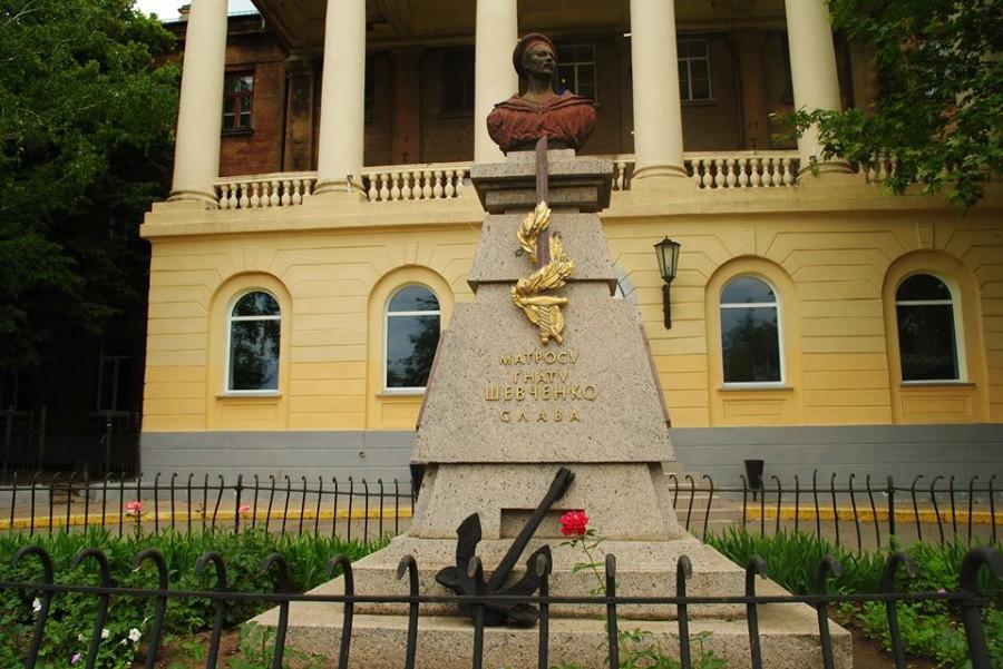 140 лет назад, 26 августа 1874 года, в Николаеве установлен памятник матросу Гнату Шевченко