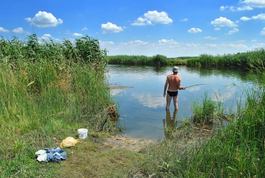Река Ингул в районе Пересадовки