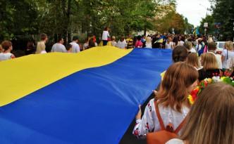 Марш вишиванок на День Независимости Украины