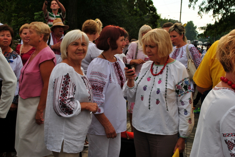 Марш вышиванок на День Независимости Украины