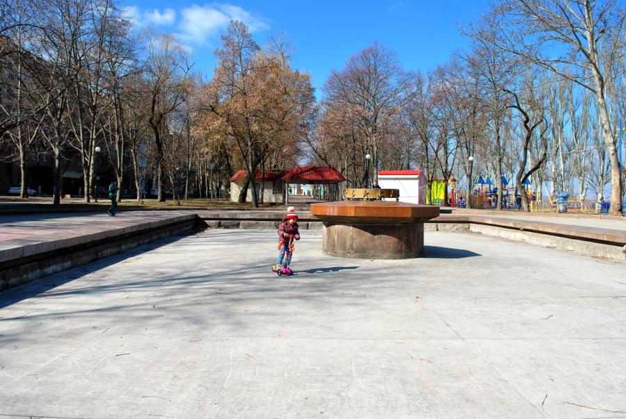 Флотский бульвар в Николаеве