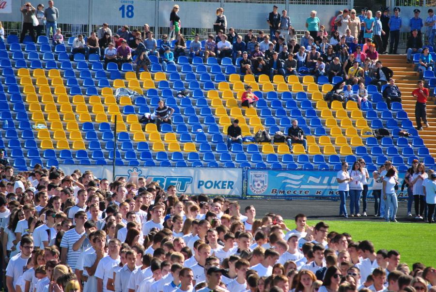 Флешмоб, посвященный годовщине образования Николаевской области