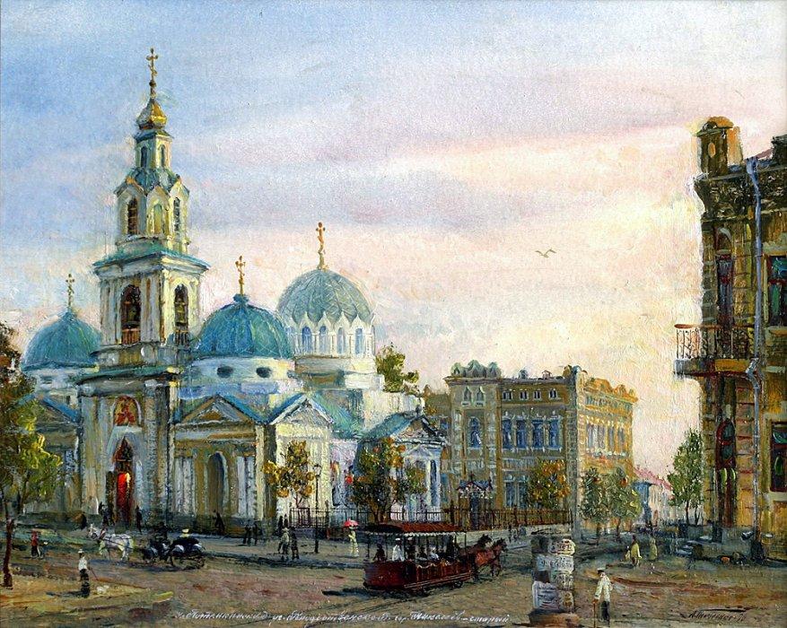 Город Николаев в живописи