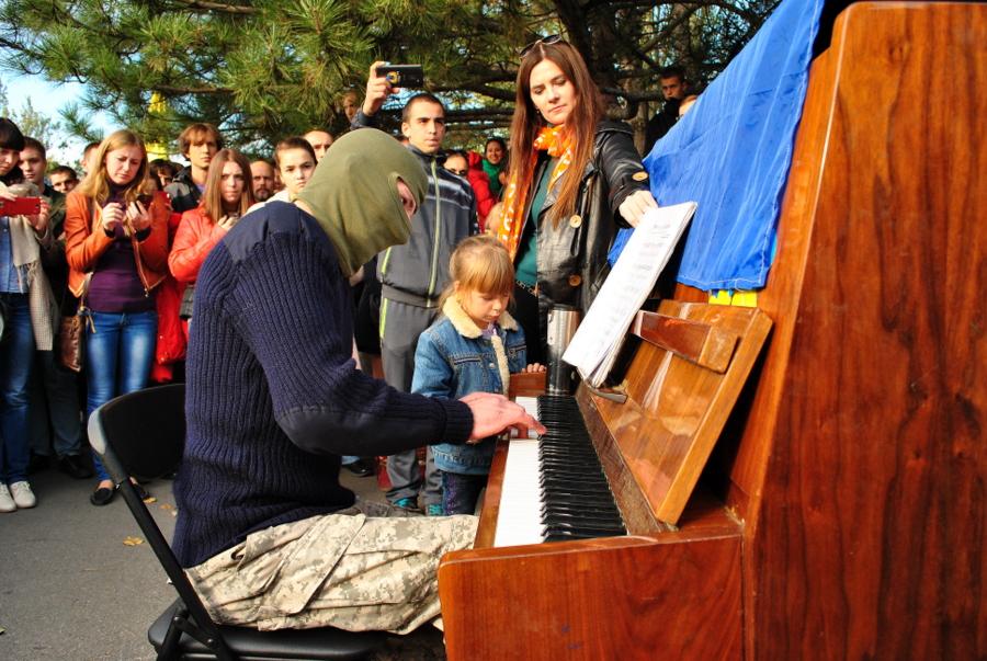 Пианист-экстремист Piano в Николаеве