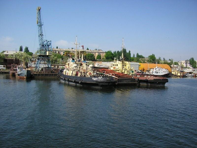 Николаевский морской порт и его окрестности