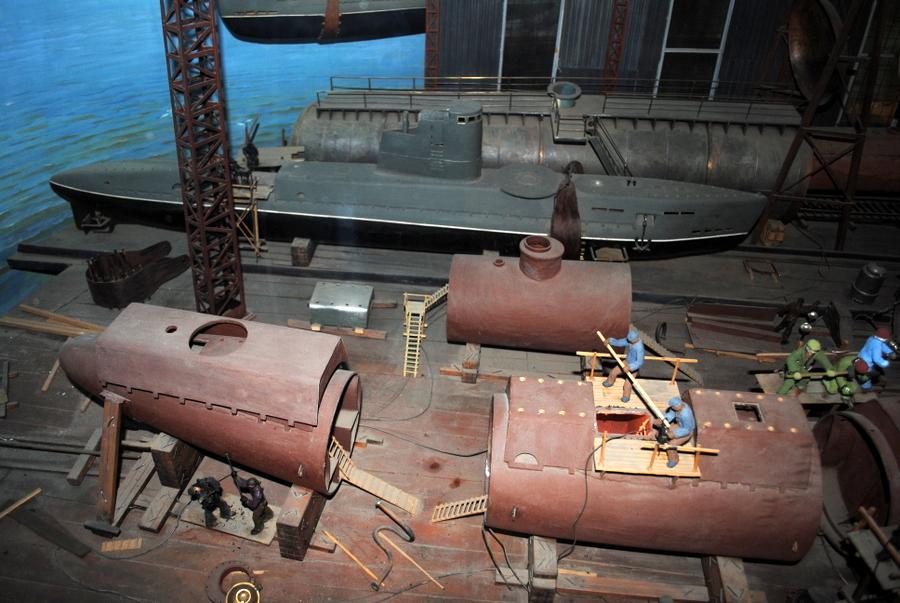 Строительство подводных лодок