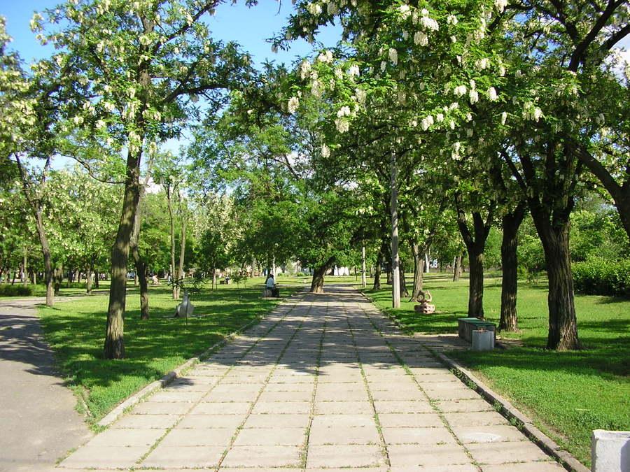 Пионерский сквер в городе Николаеве