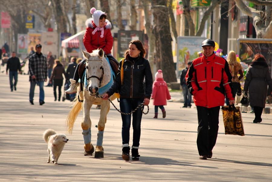 На ул. Соборной в Николаеве