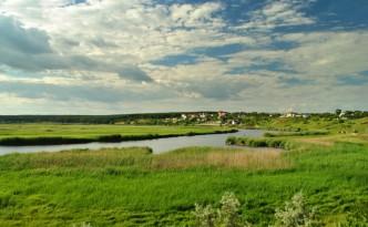 На берегу Ингула в Мешково-Погорелово