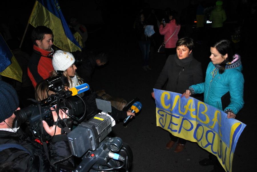 Город Николаев встречает 79-ю Аэромобильную Бригаду из зоны АТО 0215