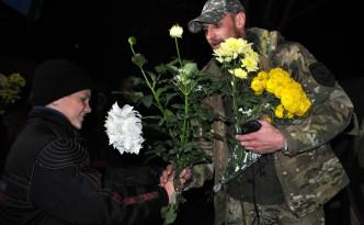 Город Николаев встречает 79-ю Бригаду из АТО