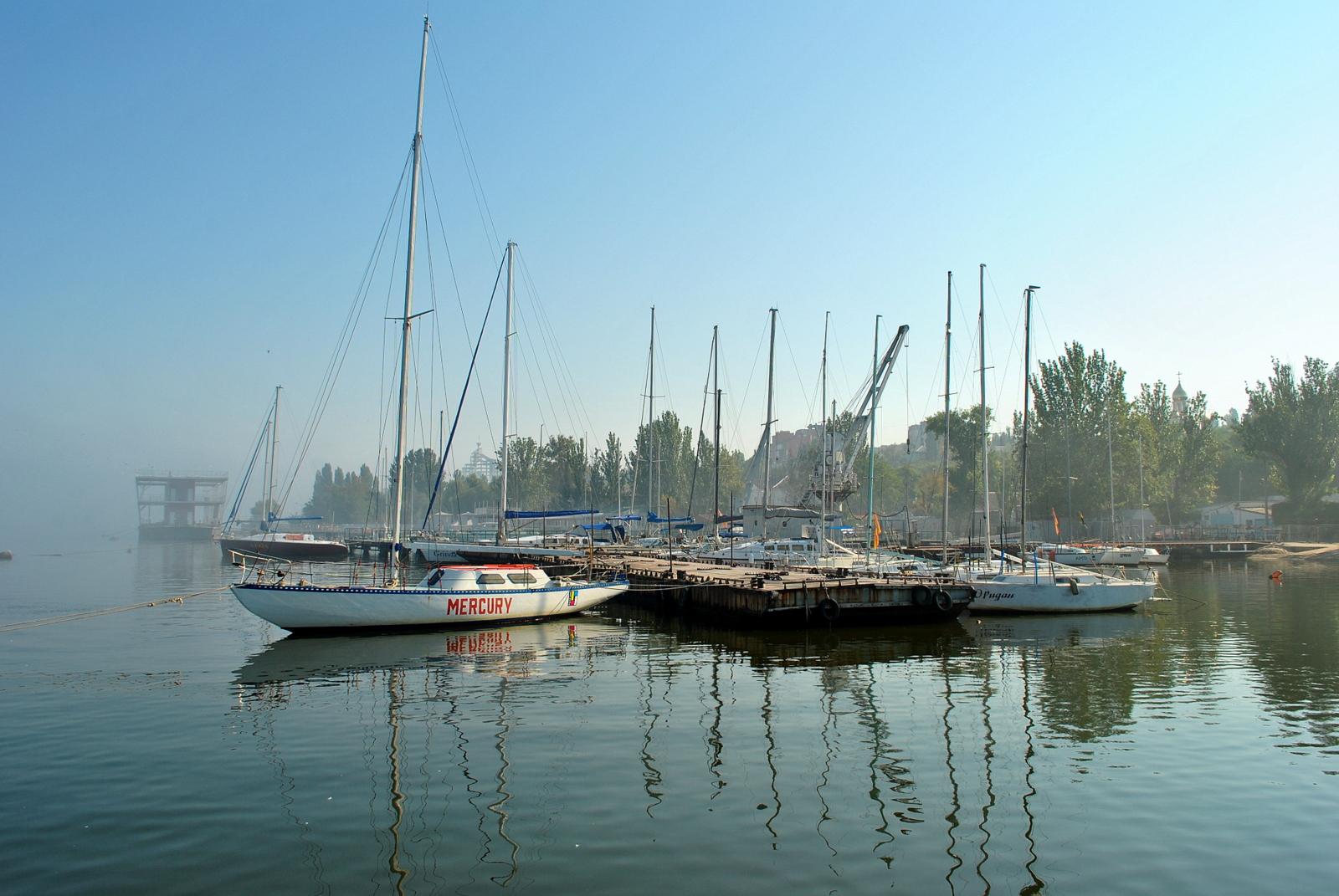 У Миколаївському Яхт-клубі