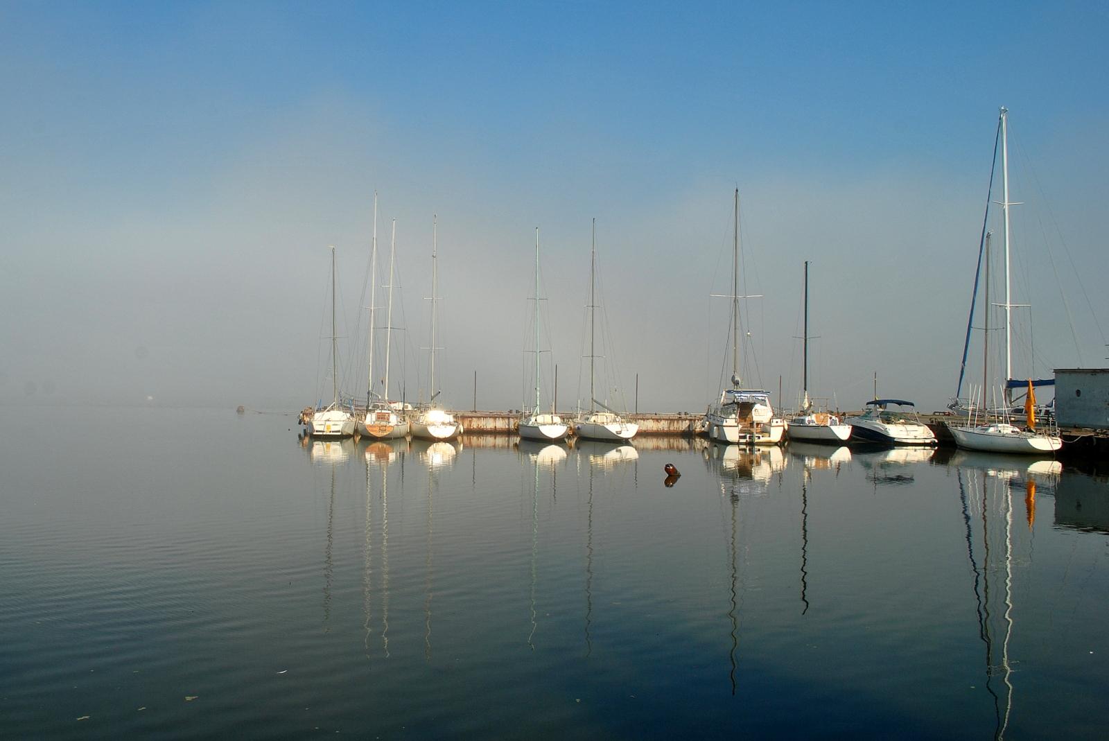 Утро в Яхтклубе