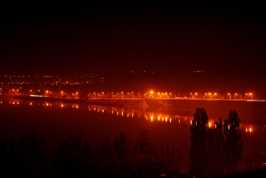 Вид на Варваровский мост