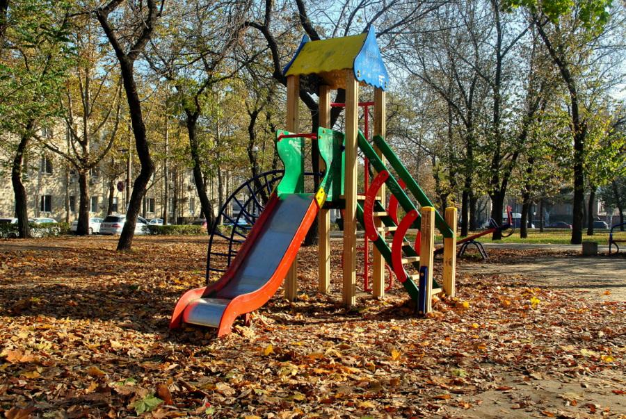 Аркасовский сквер в городе Николаеве