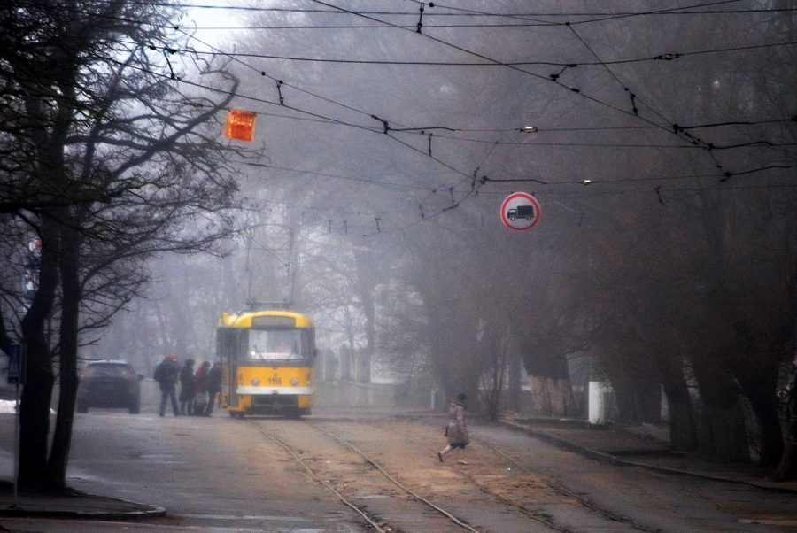 Туман на Сухом Фонтане