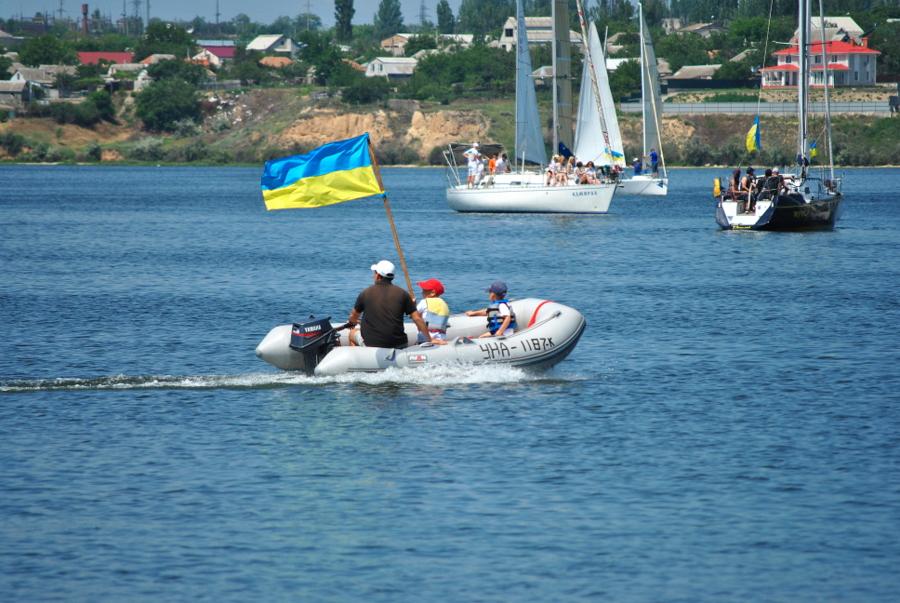 Парусная регата за единую Украину