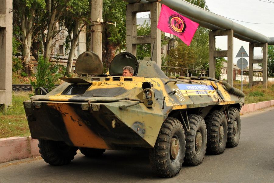 БТР для морской пехоты от Морпорта