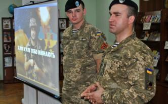Встреча школьников с военными и волонтерами