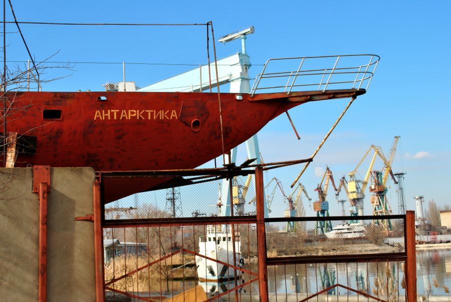 Яхта Антарктика