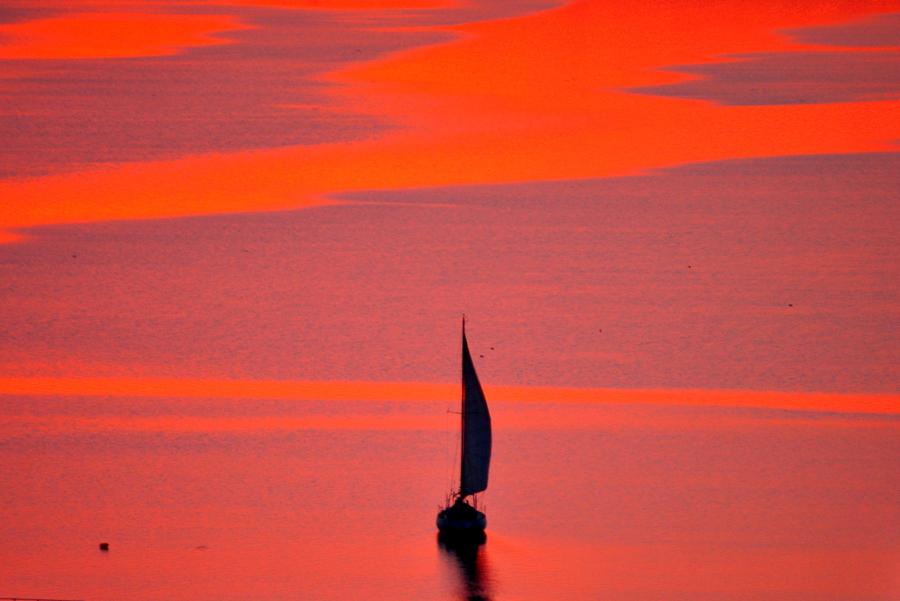 Закат над Южным Бугом