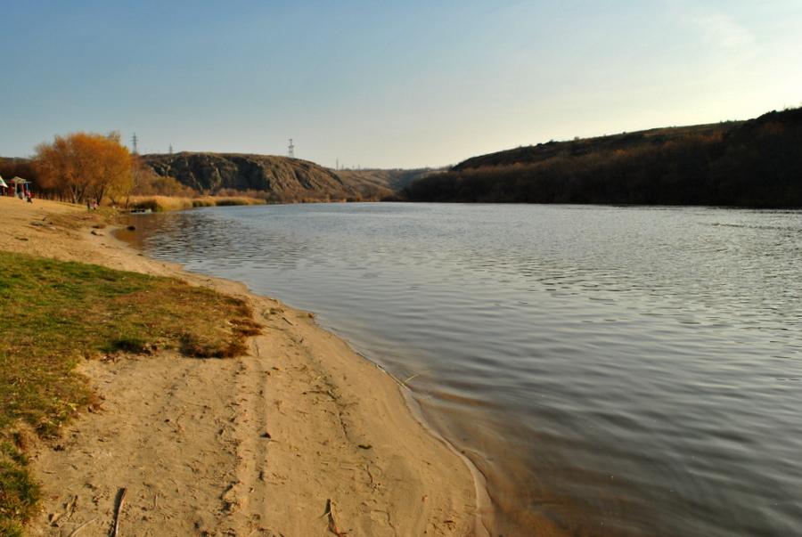 Южный Буг в районе Южноукраинска
