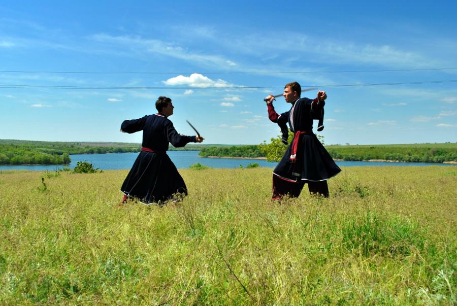 Спільний збір Миколаївського та Херсонського козацтва