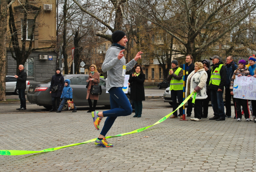 Пробег 5 км в Николаеве