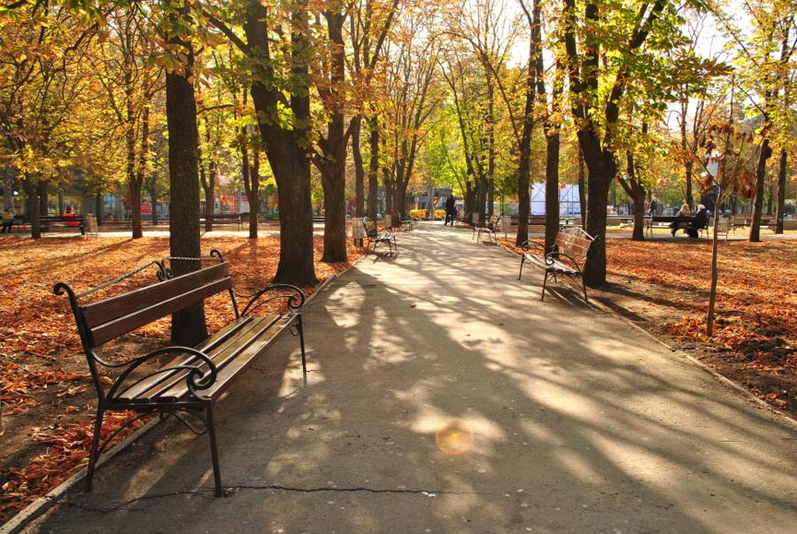 Октябрь в Николаеве