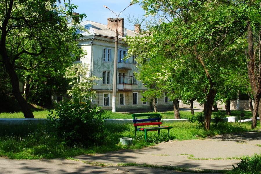 Каскадный сквер в Николаеве