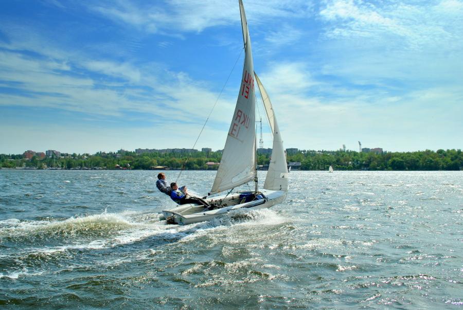 Чемпионат Николаевской области по парусному спорту