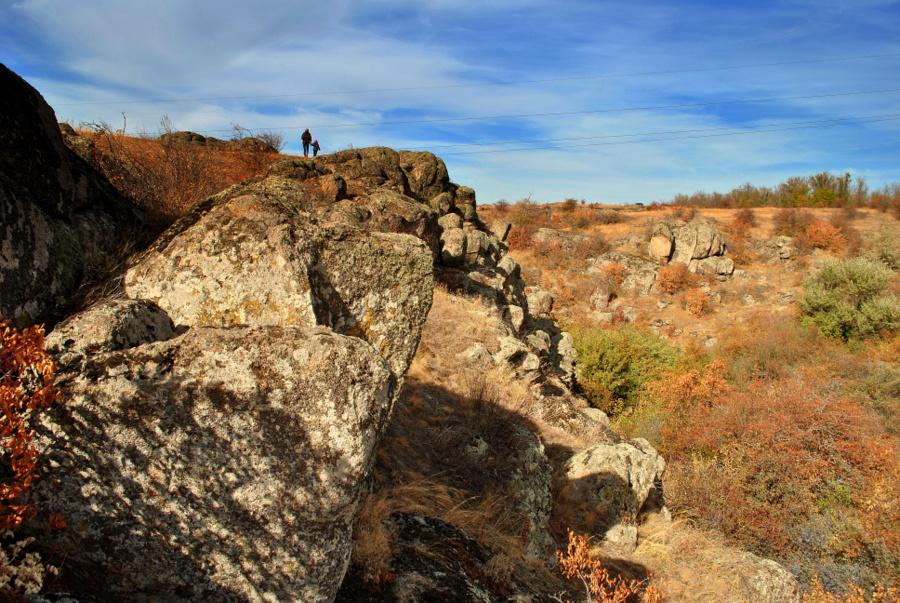 В Актовском каньоне