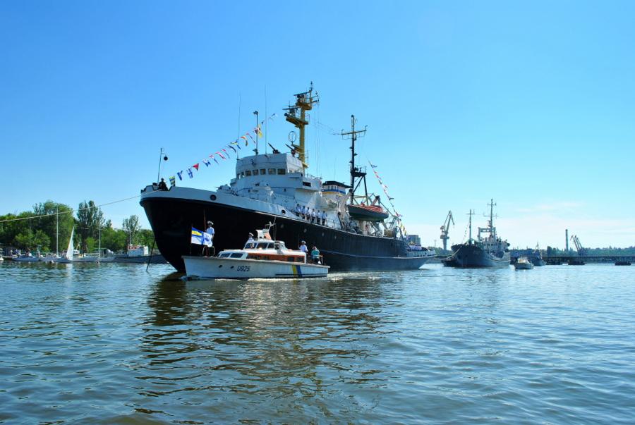 День ВМС Украины - Парад кораблей