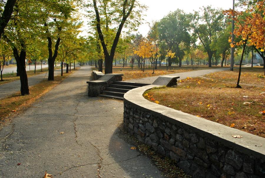 Осень в Николаеве