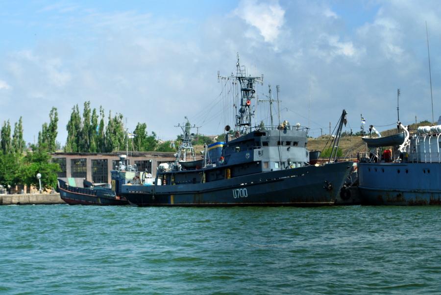 На Очаковской военно-морской базе