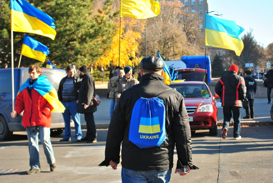 Годовщина начала Майдана