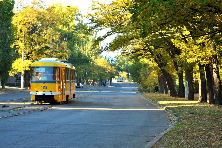 Новый трамвай на 1-й линии