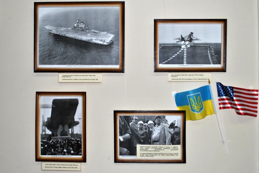 Фотовыставка об авианосцах