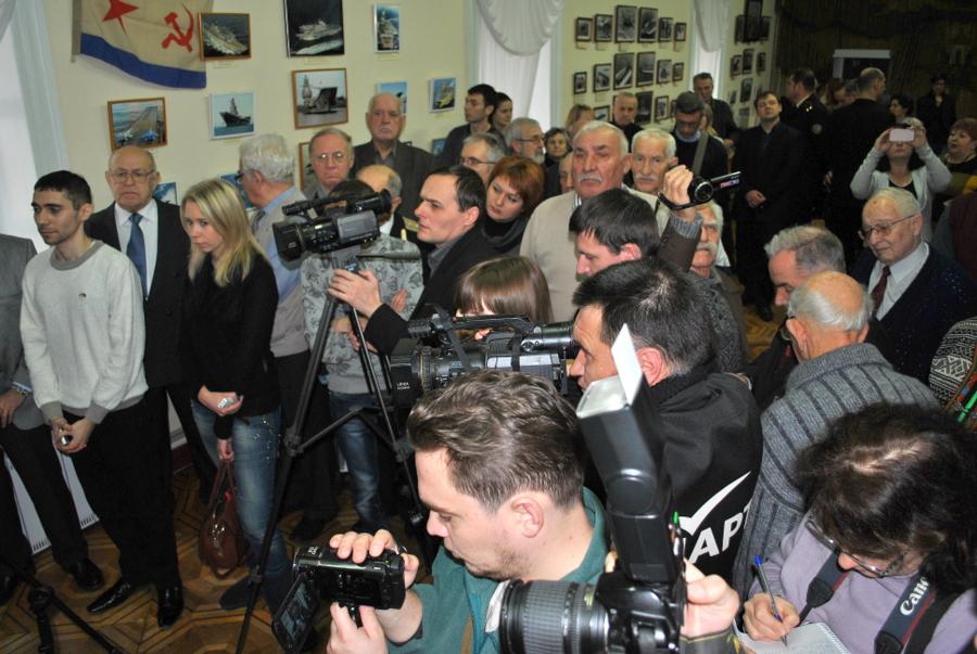 Выставка об авианосцах