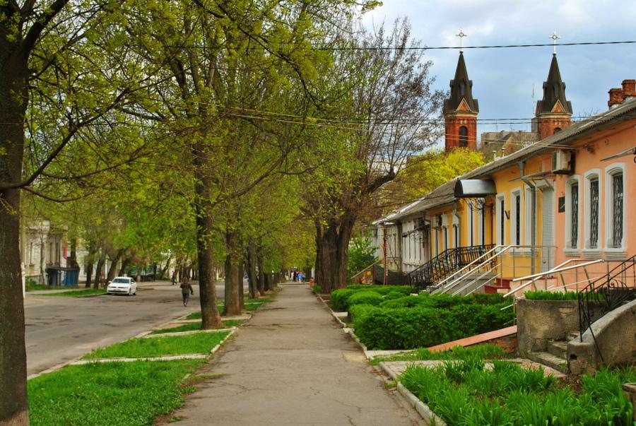 На ул. адм. Макарова