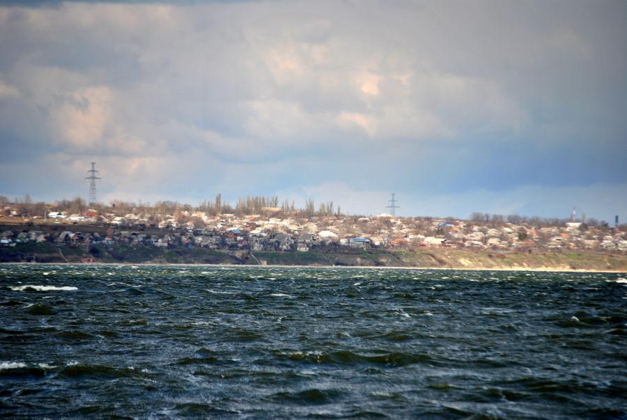 На берегу Бугского лимана в Богоявленском