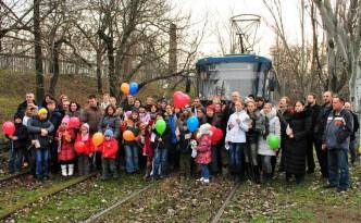 100 лет Николаевскому электрическому трамваю