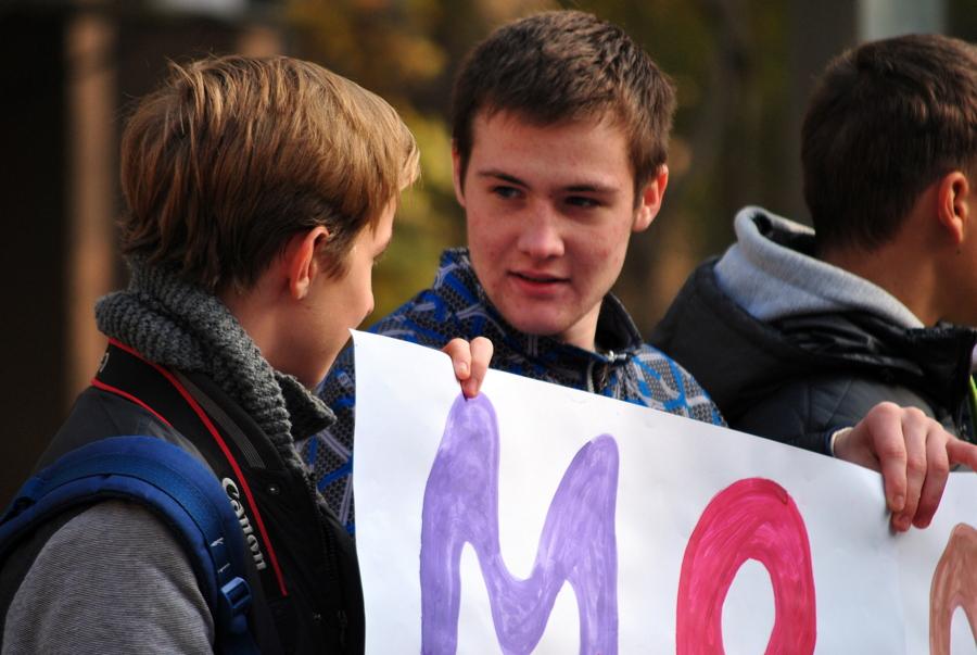 Молодежные акции в Николаеве