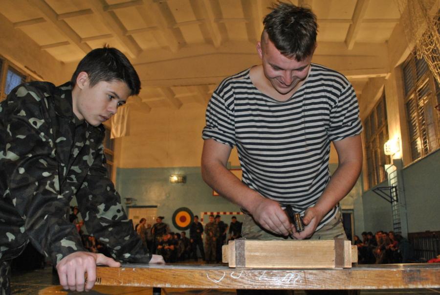 В 22-й Школе прошел военно-спортивный праздник