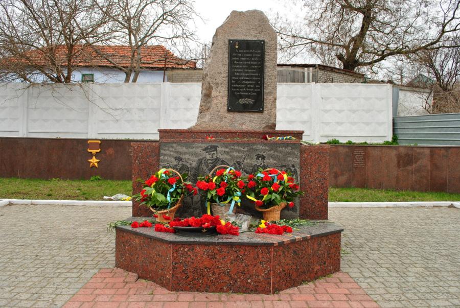 Памяти десанта Ольшанского