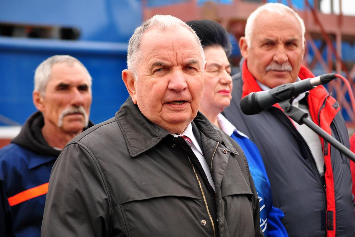 Спуск буксира Нибулон пр. 121М Юрий Макаров