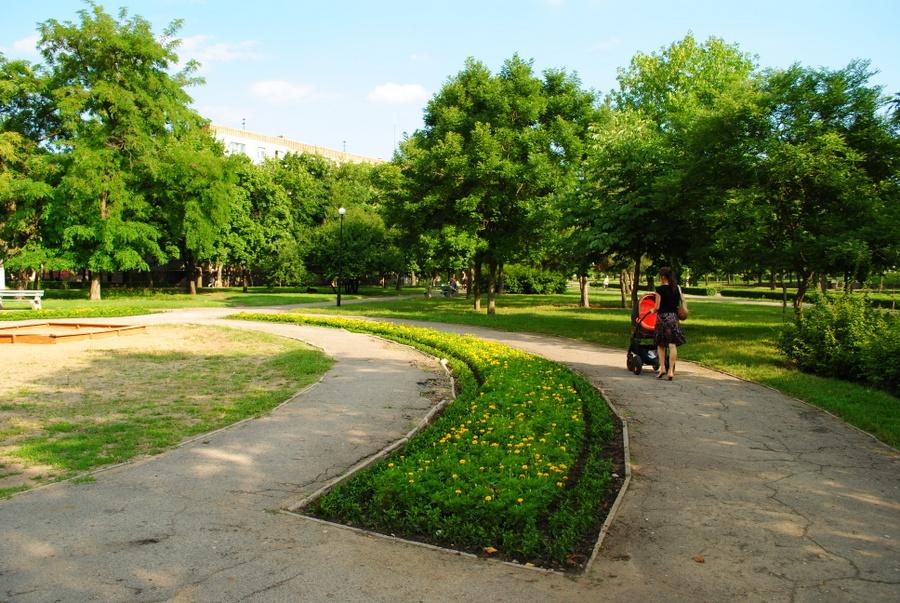Сквер им. Шевченко в Николаеве