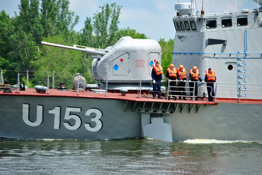 Ракетный катер U153 Прилуки