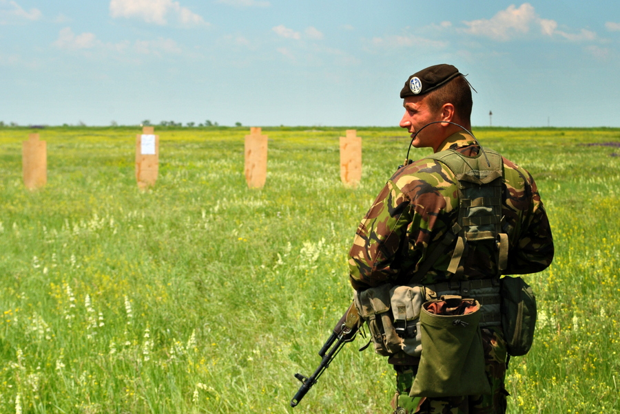 Полигон морской пехоты